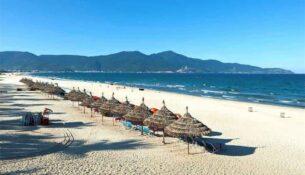 Vietnam Reisen - Der Strand von Nha Trang gilt als einer der schönsten in Vietnam