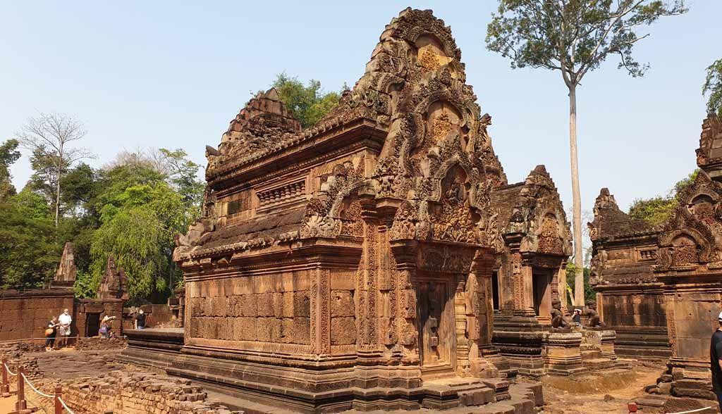Kambodscha Reisen - Banteay Srei