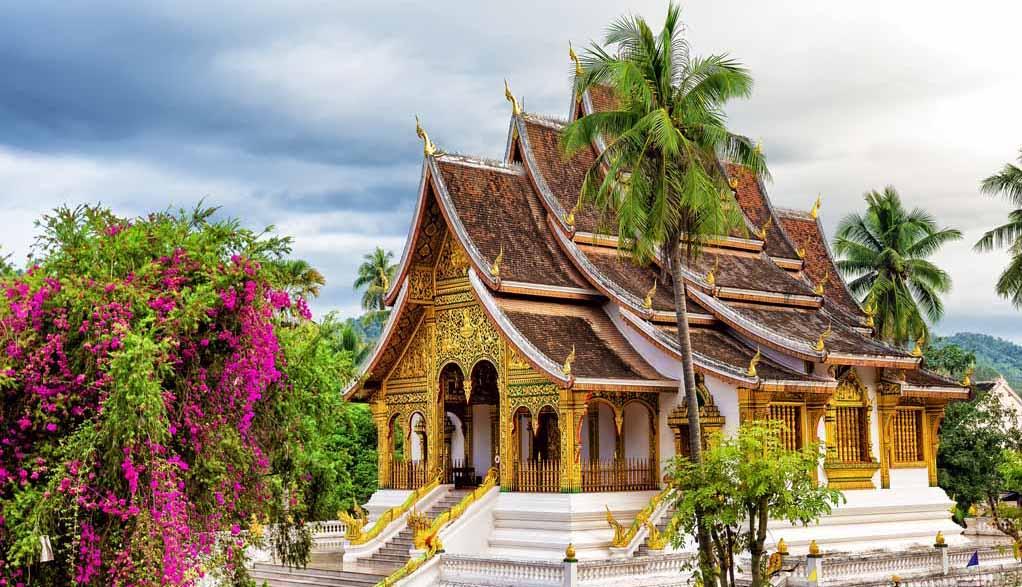 Laos Reisen - Luang Prabang - Royal Palace