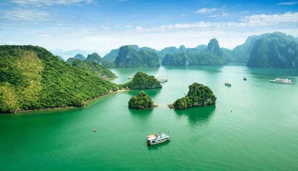 Vietnam Reisen - Halong Bay