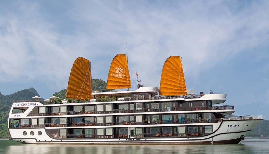Vietnam Reisen - Halong Bay - La Regina Cruise